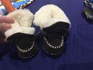 Ralph Lauren slipper boots