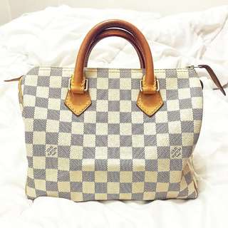 Preloved Louis Vuitton Damier Azur Speedy 25
