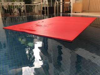 Large Yoga mat / Floating carpet