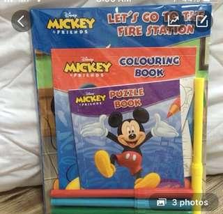 Mickey Story book + Activity book