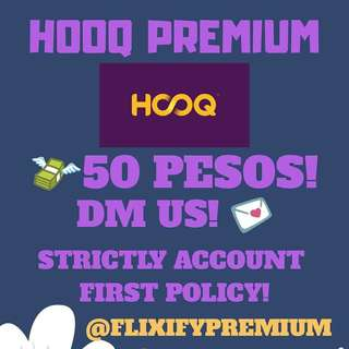 45 DAYS HOOQ PREMIUM ACCOUNT! 💯