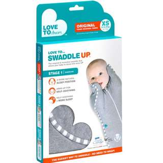 Swaddle Up Zip In (stage 1) (grey)