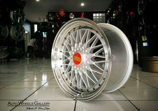 BBS RS RING 17X7,5/8,5 HOLE 8X109-114,3