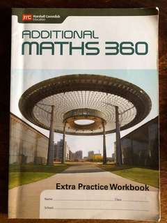 A maths workbook