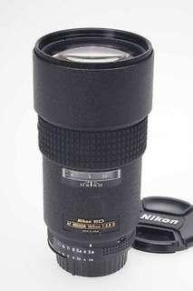Nikon af 180mm f2.8 ed if