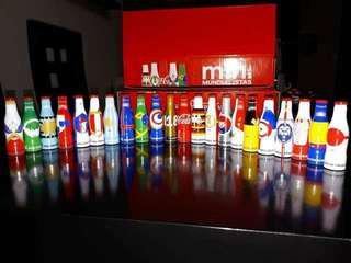 可口可樂墨西哥世界杯迷你樽24支大全套(現貨最後一套)