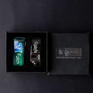 Carlsberg's collectible whistle
