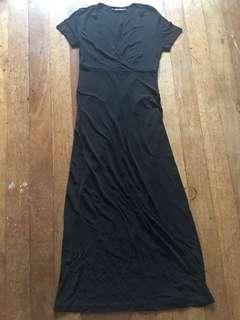 Long Black Dress, Fits S-M