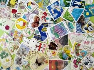 日本郵票100個,包郵