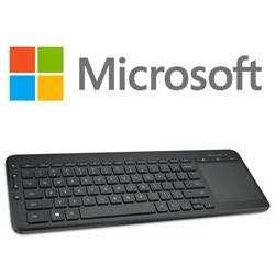 Microsoft Windows Office All In One Media Keyboard Wireless