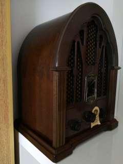GE vintage FM AM Radio