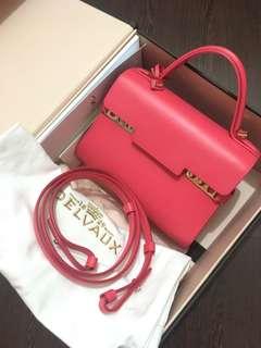 Delvaux Tempete Mini 桃紅色