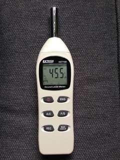 Extech 407730: Digital Sound Level Meter