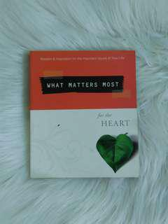 What Matters Most for the Heart