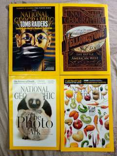 12 Pcs National Geographic July 2015 to June 2016