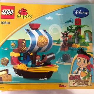 Reserved* Preloved LEGO duplo Jake the pirate