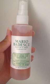 MB Rose Water Spray