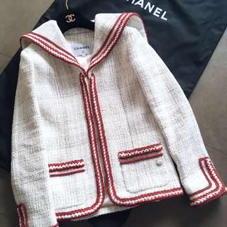 🔥Chanel Tweed Jacket 2018