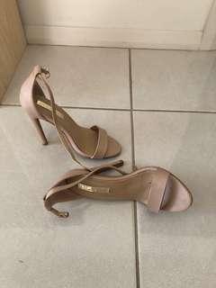 Nude stiletto heels