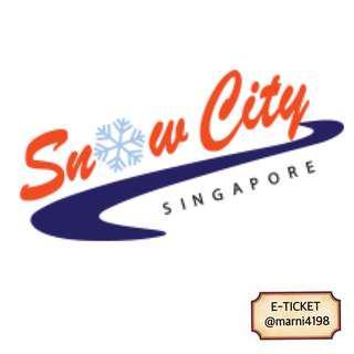 Snowcity Singapore Open Date Etickets