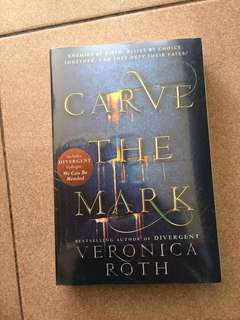 SALE! NEW! Carve the mark by Veronica Roth