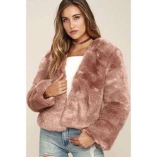 Some days Lovin Fur Coat