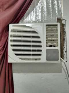 1hp aircon window type american home fs