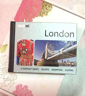 INSIDEOUT - London Travel Guide (w/ 2 Pop-out Maps)