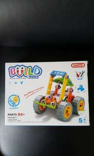 Hanye Build and Play Forklift 叉車
