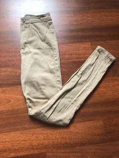Showpo Tan Jeans