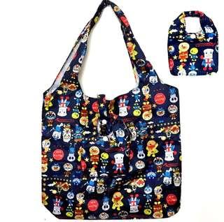 麵包超人 折疊便攜可愛卡通 購物袋大容量環保袋