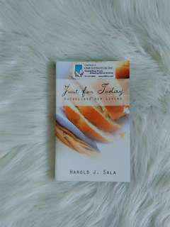 Just For Today by Harold J. Sala