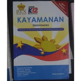 REX: Kayamanan Ekonomiks K-12 Grade 9