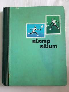 Stamp Album With Lot Of Stamp