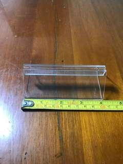 Acrylics card holder