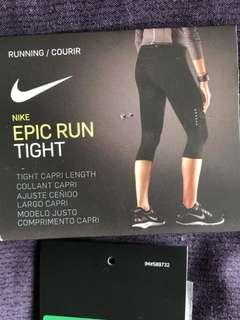 Nike Epic Run Tight Capri Length Leggings