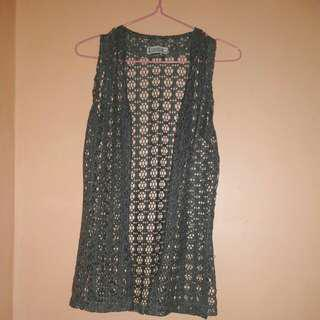 Lace cardigan (2 way)