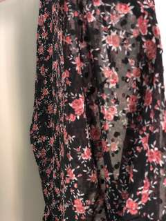 Glassons Mesh floral blouse