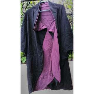 Reversible Oversized Coat