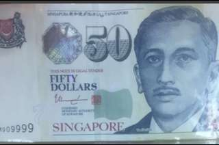 Singapore Bank Notes $50