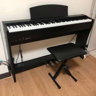 二手近新KAWAI CL-26 II 88鍵電鋼琴 附琴椅 琴架 譜架 限台北面交自取