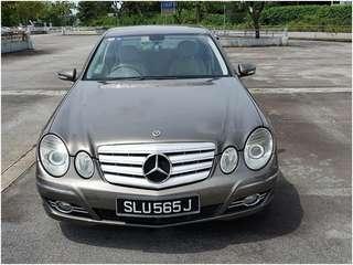 Mercedes-Benz E200 Saloon Auto NGT