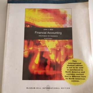 Financial Accounting: Information for Decisions, 4th Edition