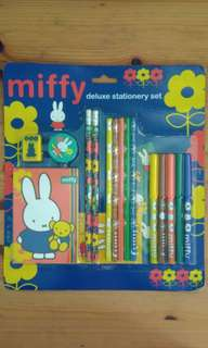 BN Miffy Deluxe Stationery Set
