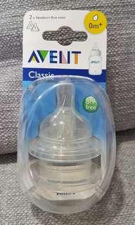 Avent classic new born Teats