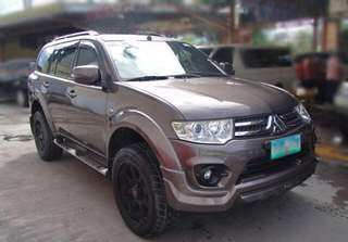 mitsubishi montero 2014 with papers 1st owner