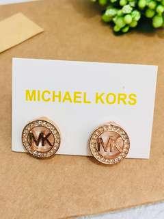 Micheal Kors 閃石金色耳環(包郵)