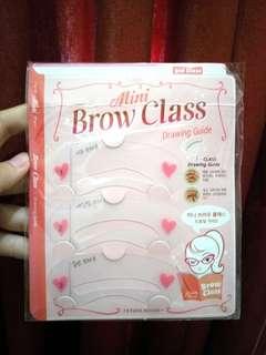 [READY STOCK] ETUDE HOUSE Mini Brow Class (Cetakan Alis)