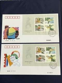 China Stamp- 1995-19 Miniature Sheet A/B FDC