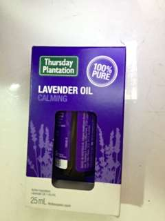 Reduced Thursday Plantation Lavender Oil 25ml